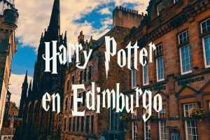 La ruta de Harry Potter en Edimburgo, Escocia.